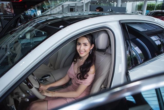 Top 5 Hoa hậu Việt Nam 2012 Phan Thị Mơ tậu Mercedes-Benz S400 trị giá 4 tỷ Đồng - Ảnh 3.