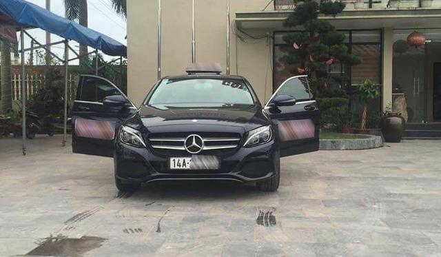 Mercedes-Benz C200 2017 làm xe taxi tại Quảng Ninh - Ảnh 3.