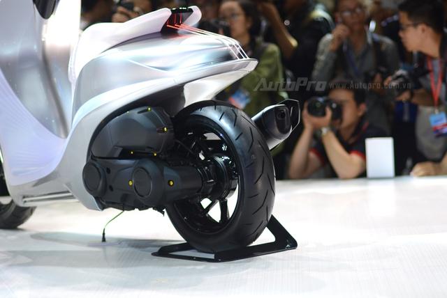 Yamaha Glorious - Xe concept mang âm hưởng nhạc cụ độc đáo - Ảnh 15.