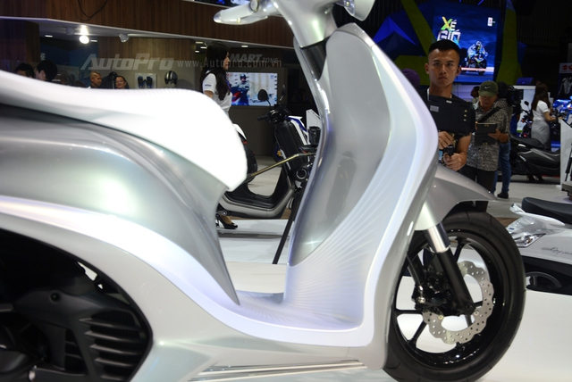 Yamaha Glorious - Xe concept mang âm hưởng nhạc cụ độc đáo - Ảnh 10.