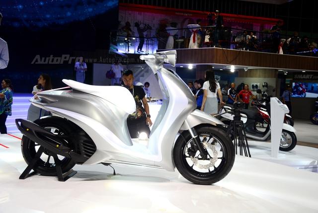Yamaha Glorious - Xe concept mang âm hưởng nhạc cụ độc đáo - Ảnh 11.
