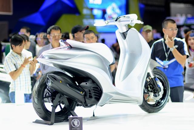 Yamaha Glorious - Xe concept mang âm hưởng nhạc cụ độc đáo - Ảnh 3.