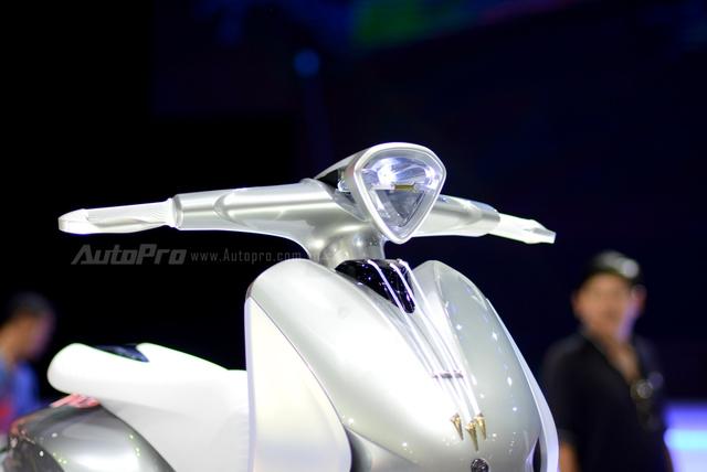 Yamaha Glorious - Xe concept mang âm hưởng nhạc cụ độc đáo - Ảnh 5.