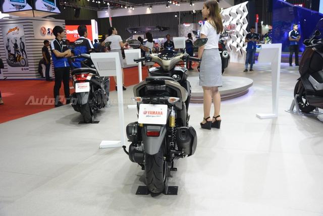 Yamaha trình làng NVX 155 bản giới hạn, khác biệt từ màu sơn và giảm xóc sau - Ảnh 10.