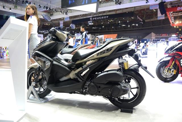Yamaha trình làng NVX 155 bản giới hạn, khác biệt từ màu sơn và giảm xóc sau - Ảnh 13.