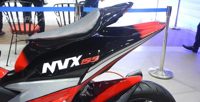 Bộ đôi Yamaha NVX 155 độ chính hãng ấn tượng tại triển lãm VMCS 2017 - Ảnh 7.