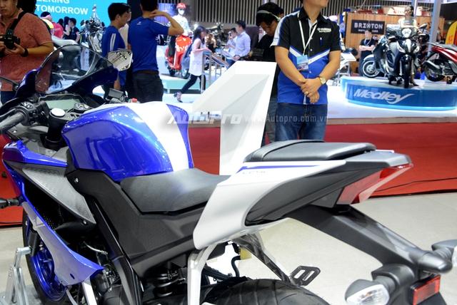 Cận cảnh Yamaha R15 3.0 2017 đầu tiên xuất hiện tại Việt Nam - Ảnh 12.