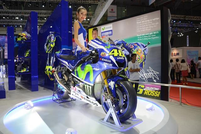 TRỰC TIẾP: Yamaha đem dàn xe khủng đến triển lãm VMCS 2017, điểm nhấn là mẫu concept Glorious - Ảnh 4.
