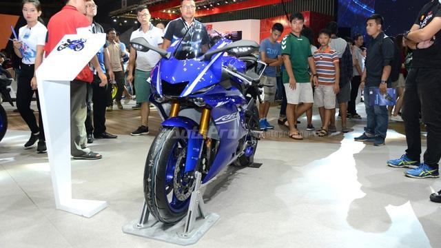 """Cận cảnh """"ngựa hoang"""" Yamaha YZF-R6 2017 tại Việt Nam"""