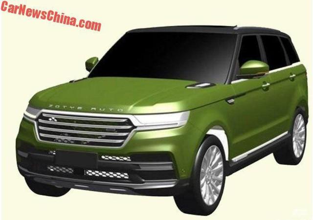 Hãng xe Trung Quốc đăng ký bản quyền thiết kế nhái Range Rover Sport - Ảnh 1.