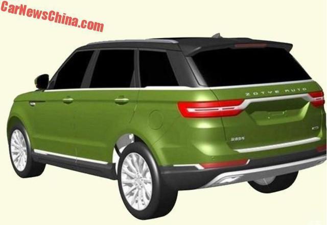 Hãng xe Trung Quốc đăng ký bản quyền thiết kế nhái Range Rover Sport - Ảnh 2.