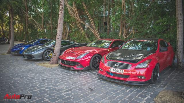 Minh Nhựa, Cường Đô-la cùng dàn siêu xe đầy màu sắc du xuân tại Phan Thiết - Ảnh 11.