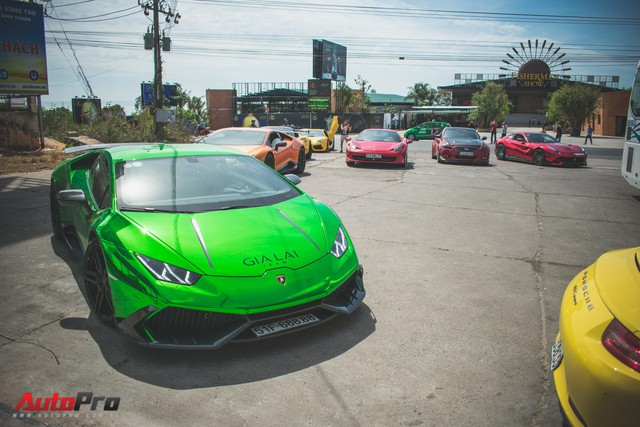 Minh Nhựa, Cường Đô-la cùng dàn siêu xe đầy màu sắc du xuân tại Phan Thiết - Ảnh 20.