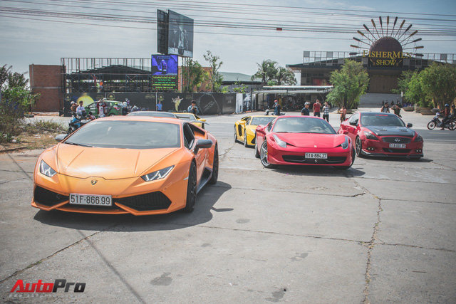 Minh Nhựa, Cường Đô-la cùng dàn siêu xe đầy màu sắc du xuân tại Phan Thiết - Ảnh 21.