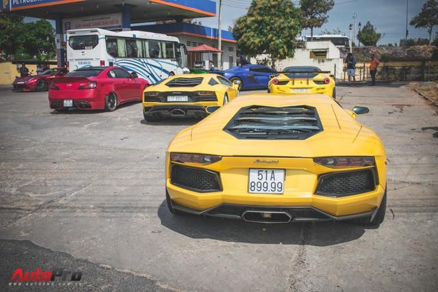 Minh Nhựa, Cường Đô-la cùng dàn siêu xe đầy màu sắc du xuân tại Phan Thiết - Ảnh 23.