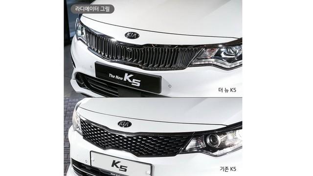 Kia hé lộ Optima facelift thông qua K5 mới tại Hàn Quốc - Ảnh 2.