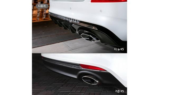 Kia hé lộ Optima facelift thông qua K5 mới tại Hàn Quốc - Ảnh 6.