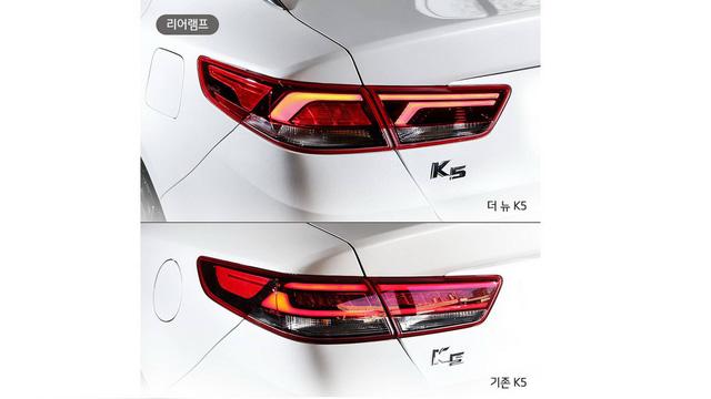 Kia hé lộ Optima facelift thông qua K5 mới tại Hàn Quốc - Ảnh 5.