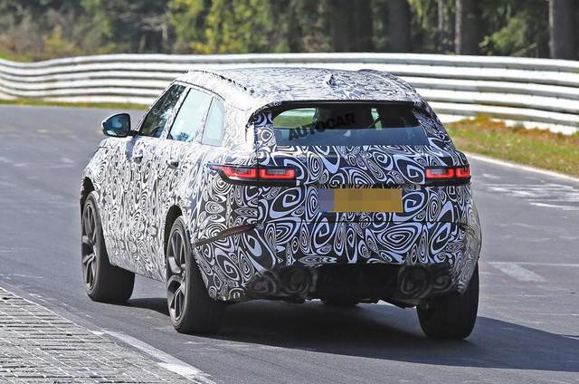 Range Rover Velar SVR hiệu suất cao sẽ trình làng trong năm nay - Ảnh 4.