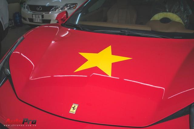 Ferrari 458 Italia dán decal ủng hộ U23 Việt Nam trong trận chung kết - Ảnh 3.