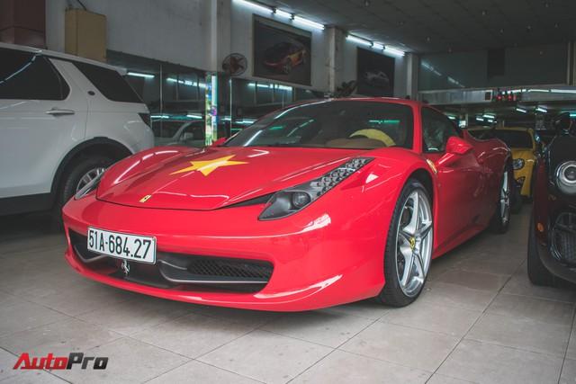 Ferrari 458 Italia dán decal ủng hộ U23 Việt Nam trong trận chung kết - Ảnh 5.
