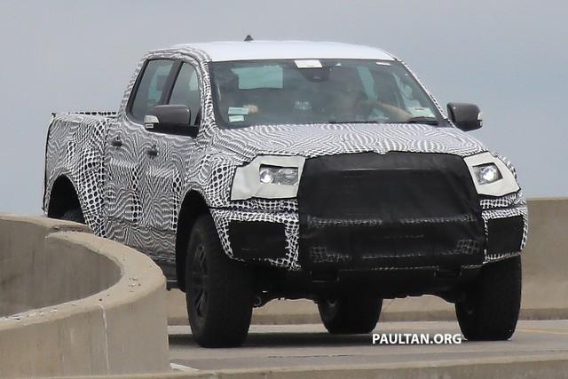 Ford nhá hàng Ranger Raptor trước thời điểm ra mắt - Ảnh 3.