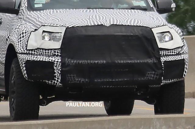 Ford nhá hàng Ranger Raptor trước thời điểm ra mắt - Ảnh 4.