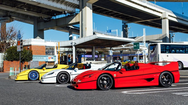 Người Nhật chơi siêu xe theo cách không giống ai