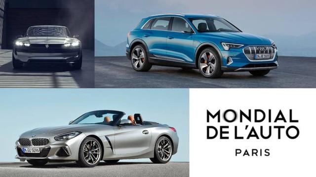 Những mẫu xe cùng toả sáng với VinFast LUX A2.0 và SA2.0 tại Paris Motor Show 2018