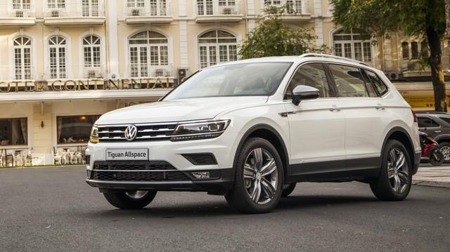 SUV 7 chỗ Volkswagen Tiguan Allspace vừa mở bán đã được nâng cấp, giá tăng 30 triệu đồng