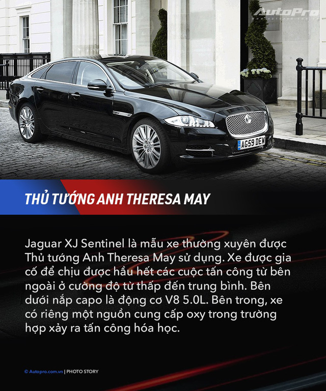 10 xe chuyên chở nguyên thủ quốc gia - Xe mới của Kim Jong Un ngầu không kém Donald Trump và Tổng thống Nga Putin - Ảnh 10.