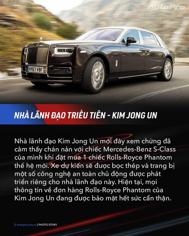 10 xe chuyên chở nguyên thủ quốc gia - Xe mới của Kim Jong Un ngầu không kém Donald Trump và Tổng thống Nga Putin - Ảnh 4.