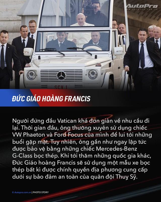 10 xe chuyên chở nguyên thủ quốc gia - Xe mới của Kim Jong Un ngầu không kém Donald Trump và Tổng thống Nga Putin - Ảnh 5.
