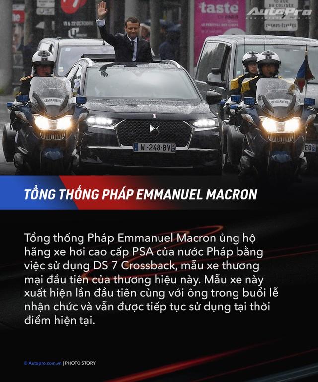 10 xe chuyên chở nguyên thủ quốc gia - Xe mới của Kim Jong Un ngầu không kém Donald Trump và Tổng thống Nga Putin - Ảnh 7.