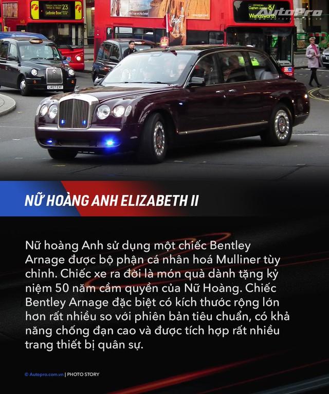 10 xe chuyên chở nguyên thủ quốc gia - Xe mới của Kim Jong Un ngầu không kém Donald Trump và Tổng thống Nga Putin - Ảnh 8.