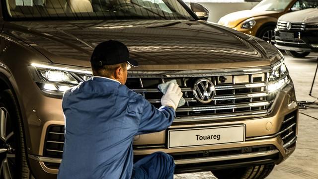 Lộ video đầu tiên của VW Touareg 2019 tại Việt Nam - Ảnh 2.