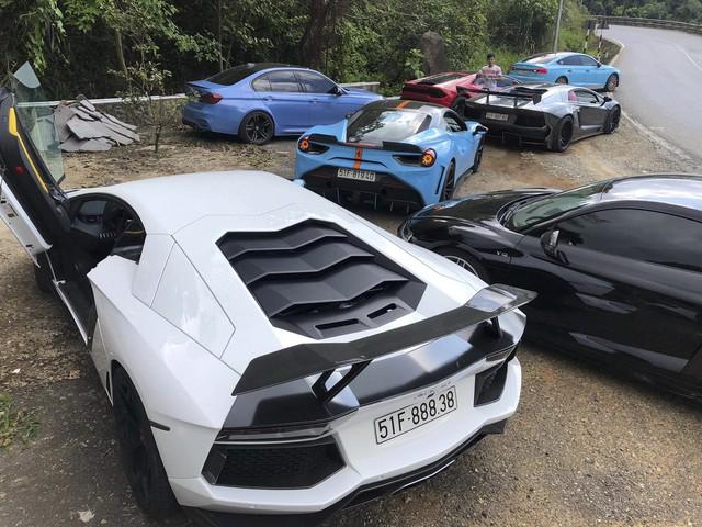 Dàn siêu xe của đại gia Sài Gòn đổ bộ lên Đà Lạt, tiền trạm cho Car & Passion 2019 - Ảnh 4.
