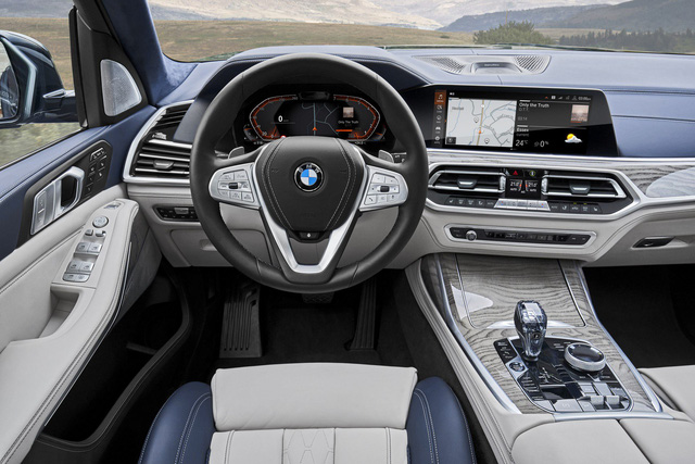 Ra mắt BMW X7 2019: Lớn như Cadillac Escalade, sang như Rolls-Royce, tham vọng lấn át Mercedes GLS - Ảnh 12.