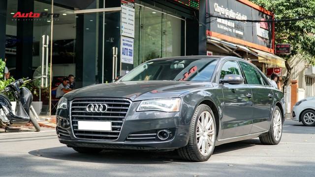 Sedan hạng sang Audi A8 cũ rao bán chỉ hơn 2,1 tỷ đồng - Ảnh 1.