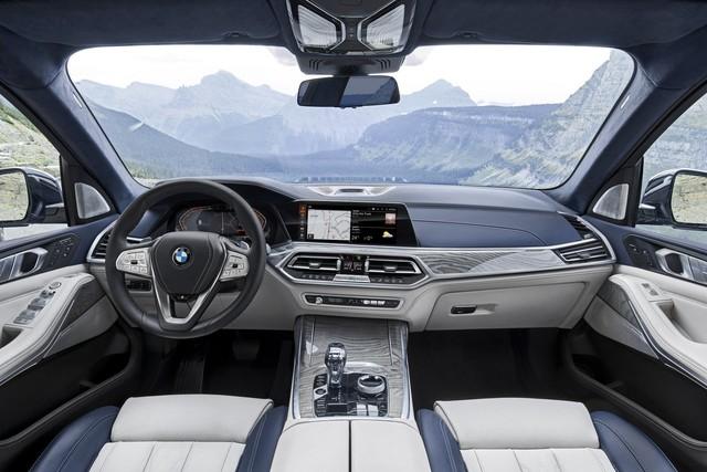 Ra mắt BMW X7 2019: Lớn như Cadillac Escalade, sang như Rolls-Royce, tham vọng lấn át Mercedes GLS - Ảnh 11.