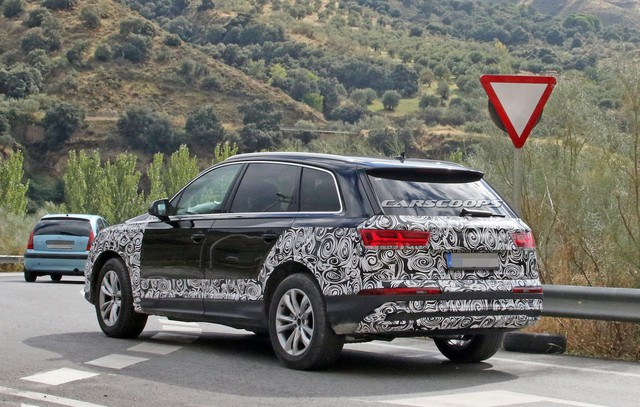 Audi gấp rút chuẩn bị Q7 facelift với tản nhiệt, đèn pha mới để cạnh tranh Mercedes-Benz GLE, BMW X5 - Ảnh 3.
