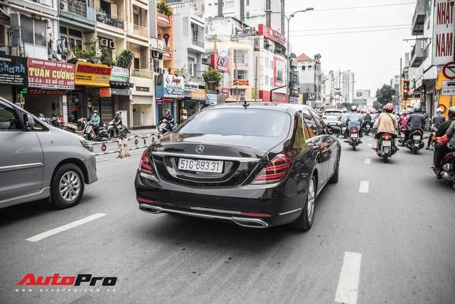 Thiếu gia Sài Gòn rước dâu bằng dàn xe sang trắng, đen hoành tráng - Ảnh 15.