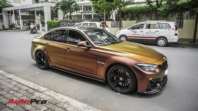 """BMW M3 """"tắc kè hoa"""" đầu tiên tại Việt Nam - Ảnh 2."""