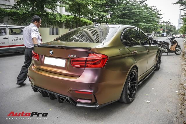 """BMW M3 """"tắc kè hoa"""" đầu tiên tại Việt Nam - Ảnh 3."""
