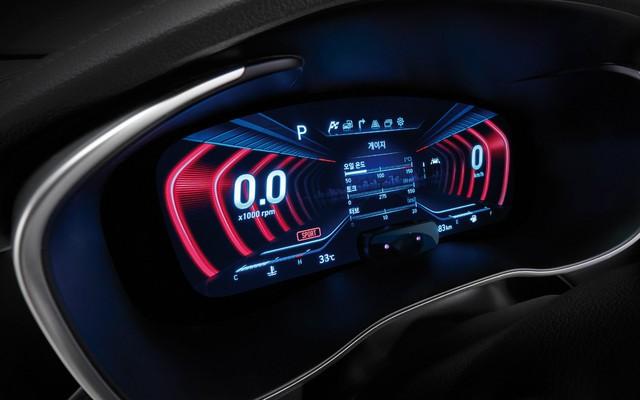 Genesis G70 dùng bảng đồng hồ kỹ thuật số 3D, đi trước C-Class và 3-Series  - Ảnh 2.