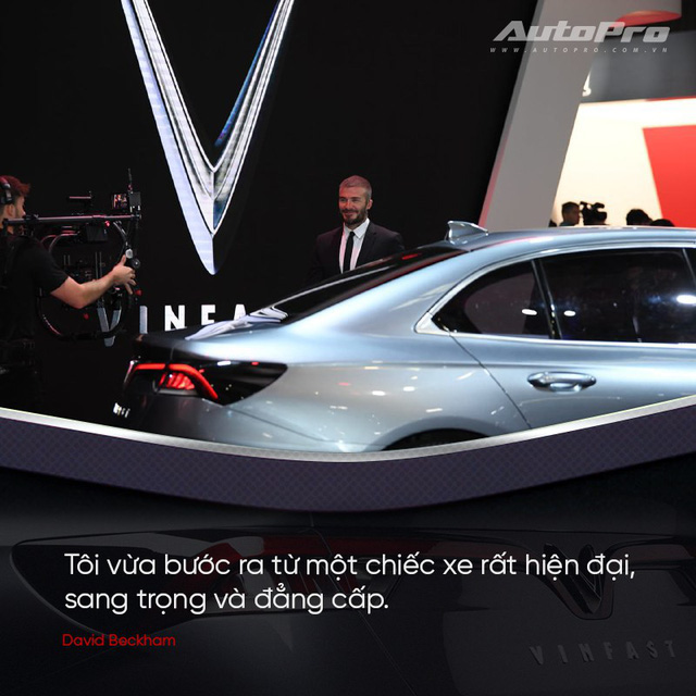 David Beckham: Xe VinFast rất hợp với Châu Âu và Bắc Mỹ - Ảnh 1.