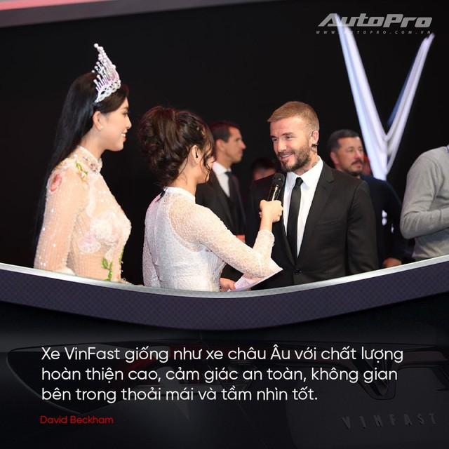 David Beckham: Xe VinFast rất hợp với Châu Âu và Bắc Mỹ - Ảnh 3.