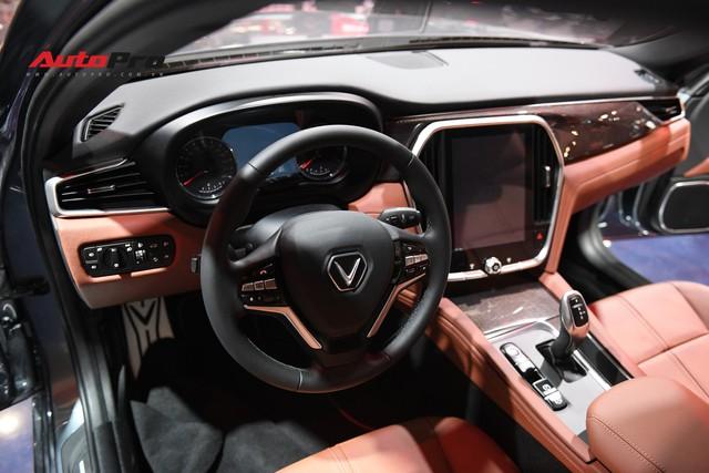 Chùm ảnh nội thất sedan VinFast LUX A2.0: Sang trọng và hiện đại hệt xe châu Âu - Ảnh 3.