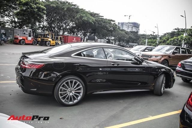 Mercedes-Benz S450 Coupe đầu tiên về Việt Nam, chuẩn bị ra mắt khách hàng - Ảnh 5.
