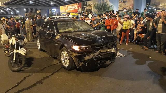 Mức án nào cho nữ tài xế uống bia rượu, lái BMW gây tai nạn liên hoàn khiến 6 người thương vong ở Sài Gòn? - Ảnh 1.